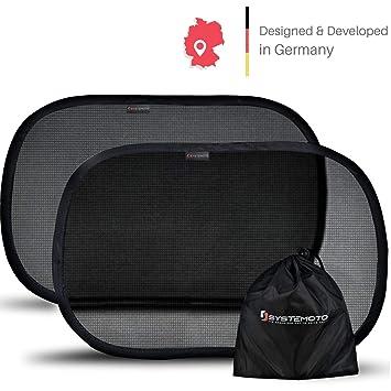 Systemoto Selbsthaftender Sonnenschutz Auto für Baby mit Zertifiziertem UV