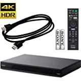 Sony - UBP-X800 - Streaming 4K Ultra HD 3D Hi-Res Audio Wi-Fi Built-in Blu-ray Player + Remote Control - Black