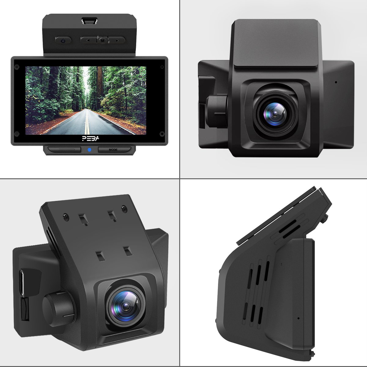 Dash Cam for Cars PEBA Full HD 1080P Car Camera with: Amazon co uk