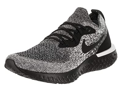 more photos 3f2c2 0d336 Nike WMNS Epic React Flyknit Womens Aq0070-011 Size 5 Black Black-White
