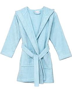b2d8b1157f Amazon.com  MICHLEY Girls Boys Robe Cotton Towel Kids Animal ...