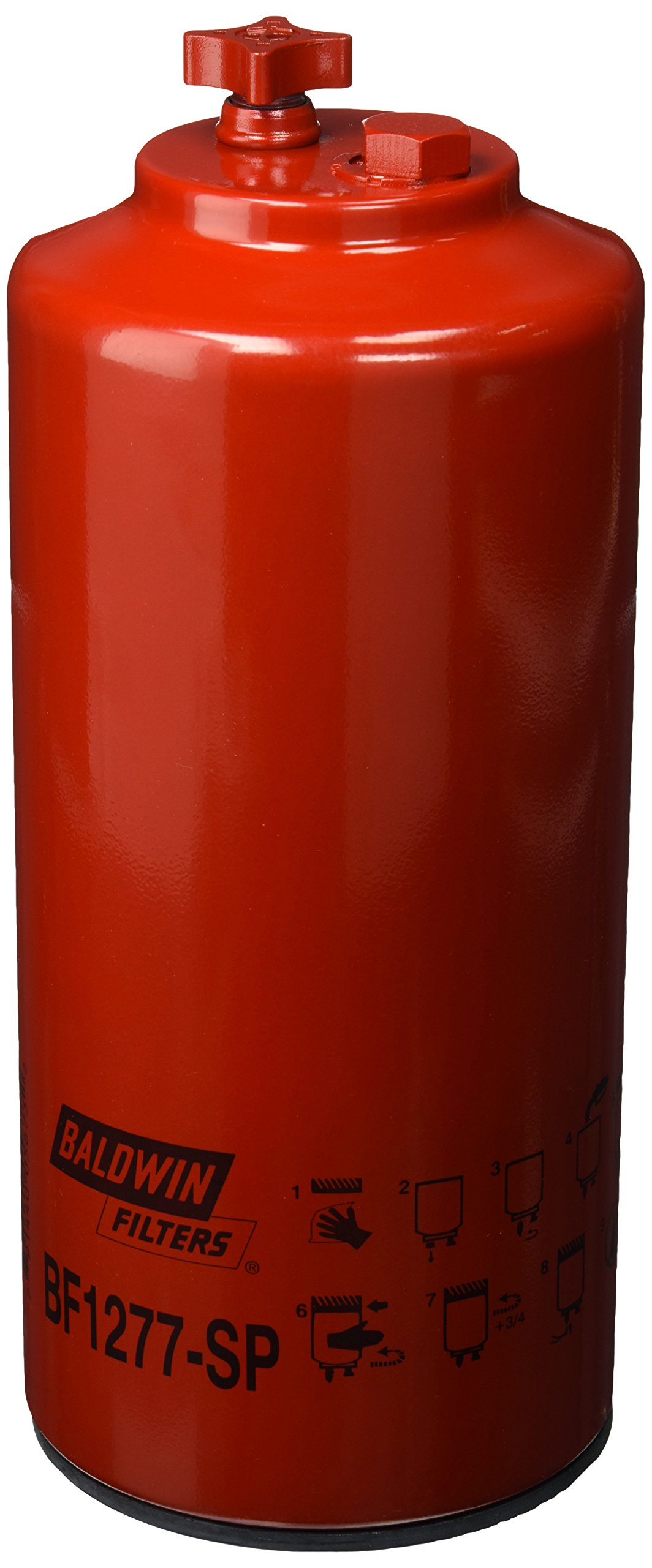 Baldwin Heavy Duty BF1277-SP Fuel Filter,11-5/8 x 4-21/32 x 11-5/8 In