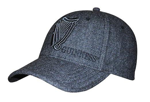 1d0790a7efa42 Guinness Tweed Vintage Harp Baseball Cap Grey at Amazon Men s ...