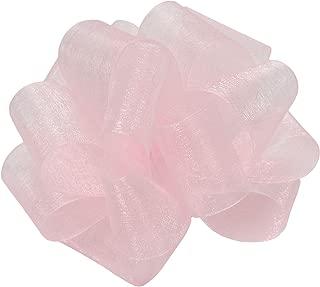 "product image for Offray Berwick LLC 427279 Berwick Simply Sheer Asiana Ribbon - 1-1/2"" W X 25 yd - Light Pink Ribbon"