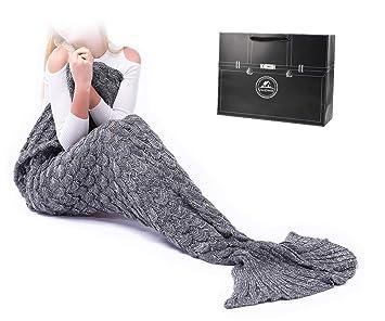 Airdom Meerjungfrau Decke Geschenk Beste Freundin Personalisierte