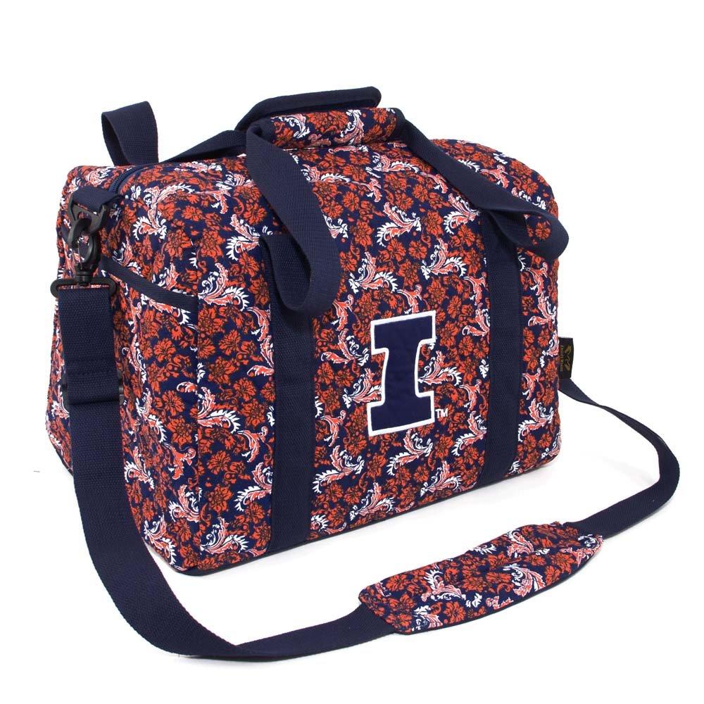 Eagles Wings NCAA Illinois Illini Women's Mini Duffle Bag, One Size, Multicolor