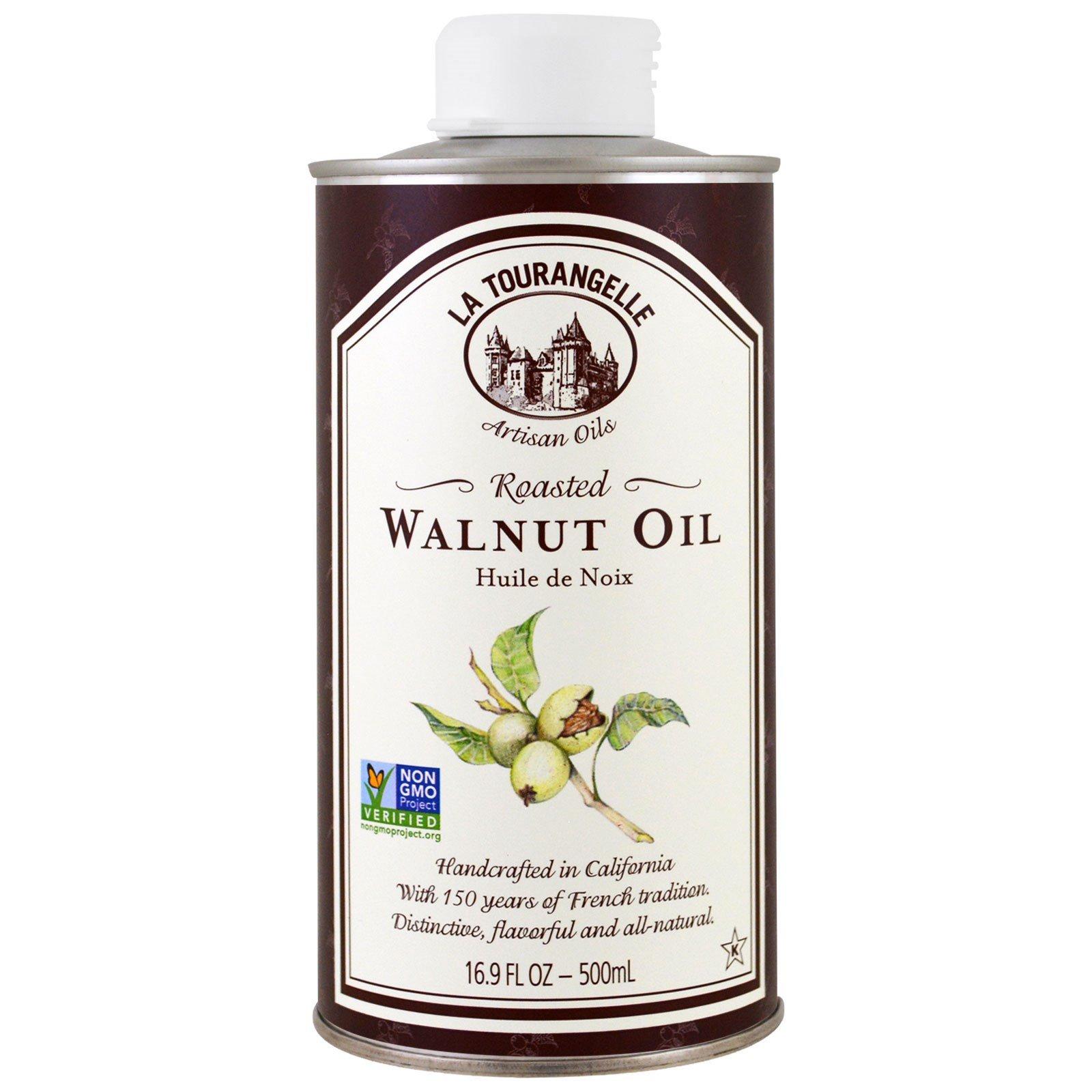 La Tourangelle, Walnut Oil, 16.9 fl oz (500 ml) - 2PC