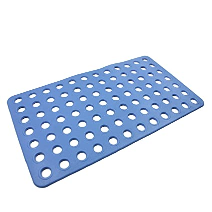 Hy Big Hole Anti Slip Bath And Shower Mat Rubber Floor Mat Anti Fatigue Drainage Mat Natural Rubber Non Toxic Eco Friendly Mildew And Stain