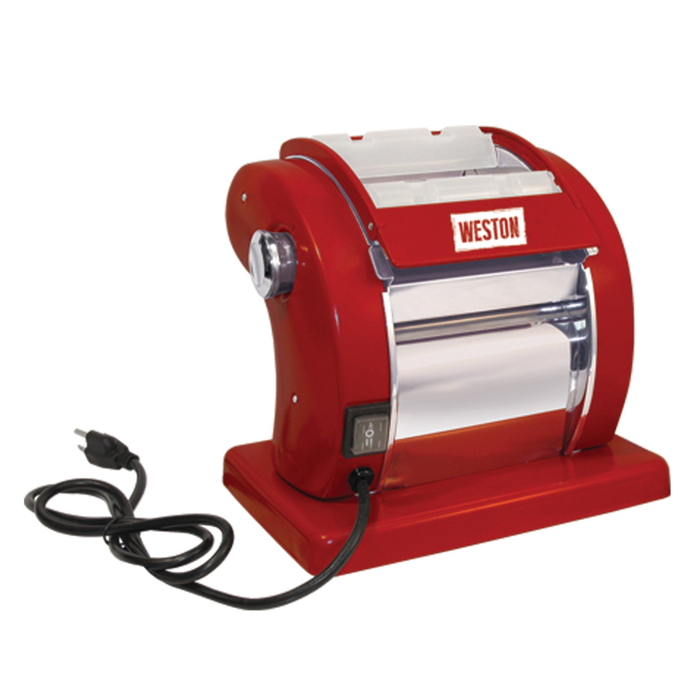 Weston 01-0601-W Electric Pasta Machine, Red by Weston