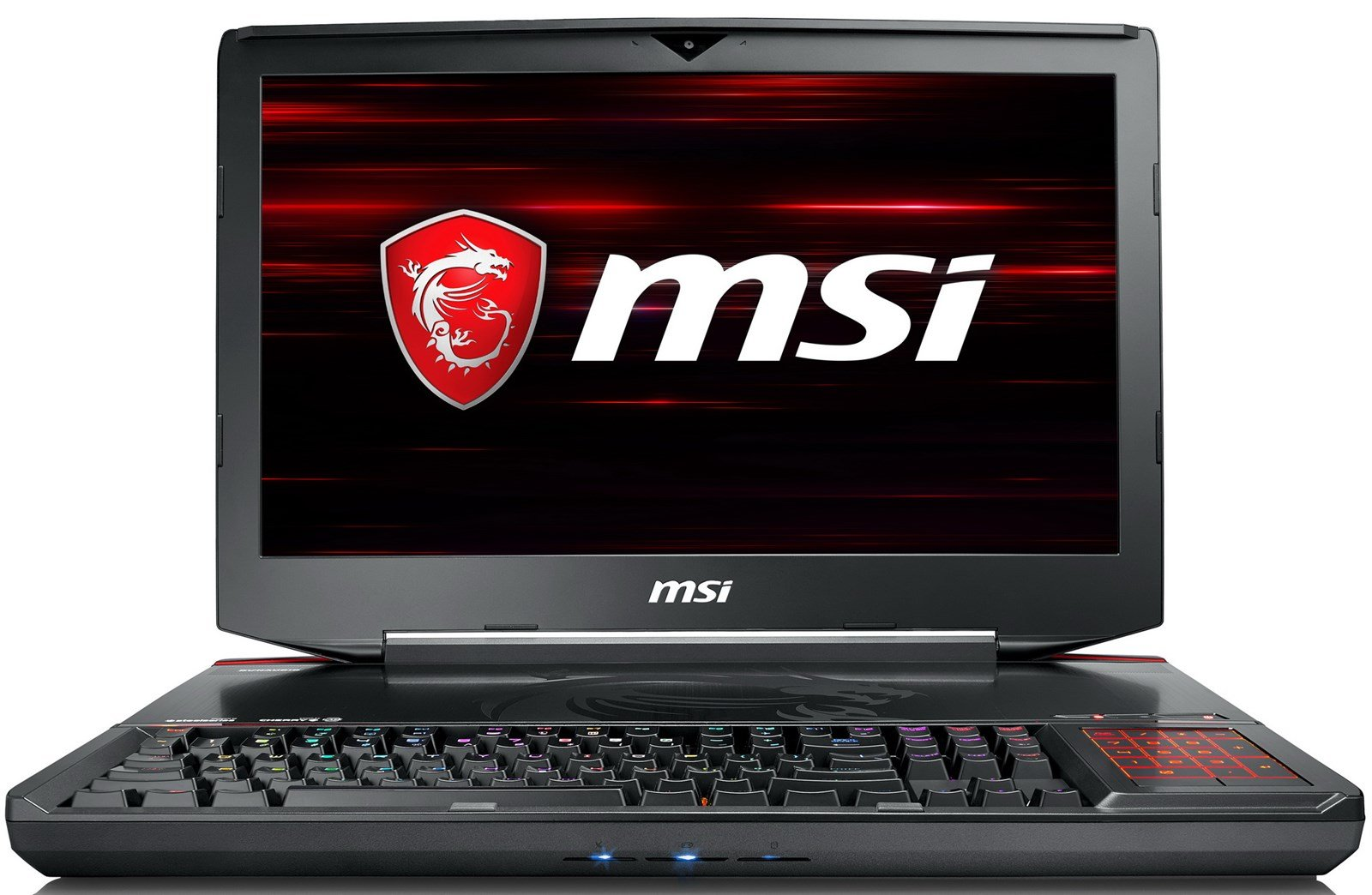 MSI GT83 TITAN-027 Enthusiast (i7-8850H, 32GB RAM, 4TB NVMe SSD + 1TB HDD, GTX 1080 SLI 16GB, 18.4″ Full HD, Windows 10) VR Ready Gaming Notebook
