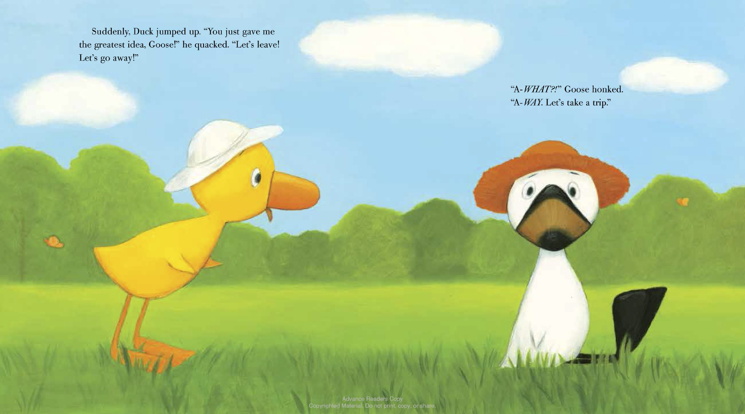 Duck & Goose Go to the Beach by Schwartz & Wade (Image #3)