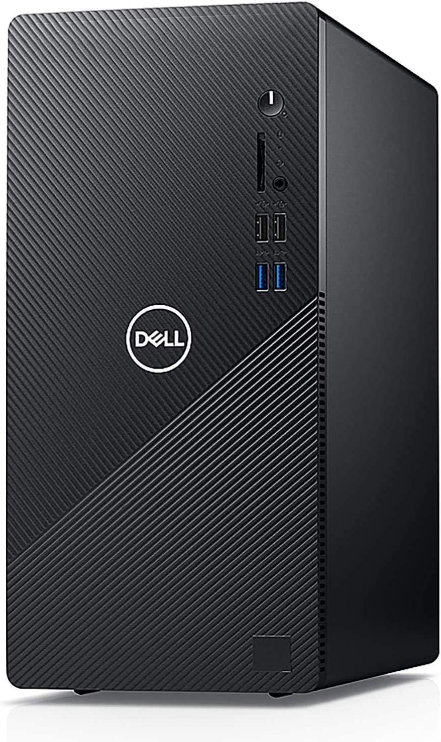 Dell Inspiron 3880 Business Desktop Computer_ Intel Quad-Core i3-10100 up to 4.3GHz (Beats I5-8400)_ 8GB DDR4_ 1TB 7200RPM HDD_ WiFi_ VGA_ HDMI_ Black_ Windows 10 Pro