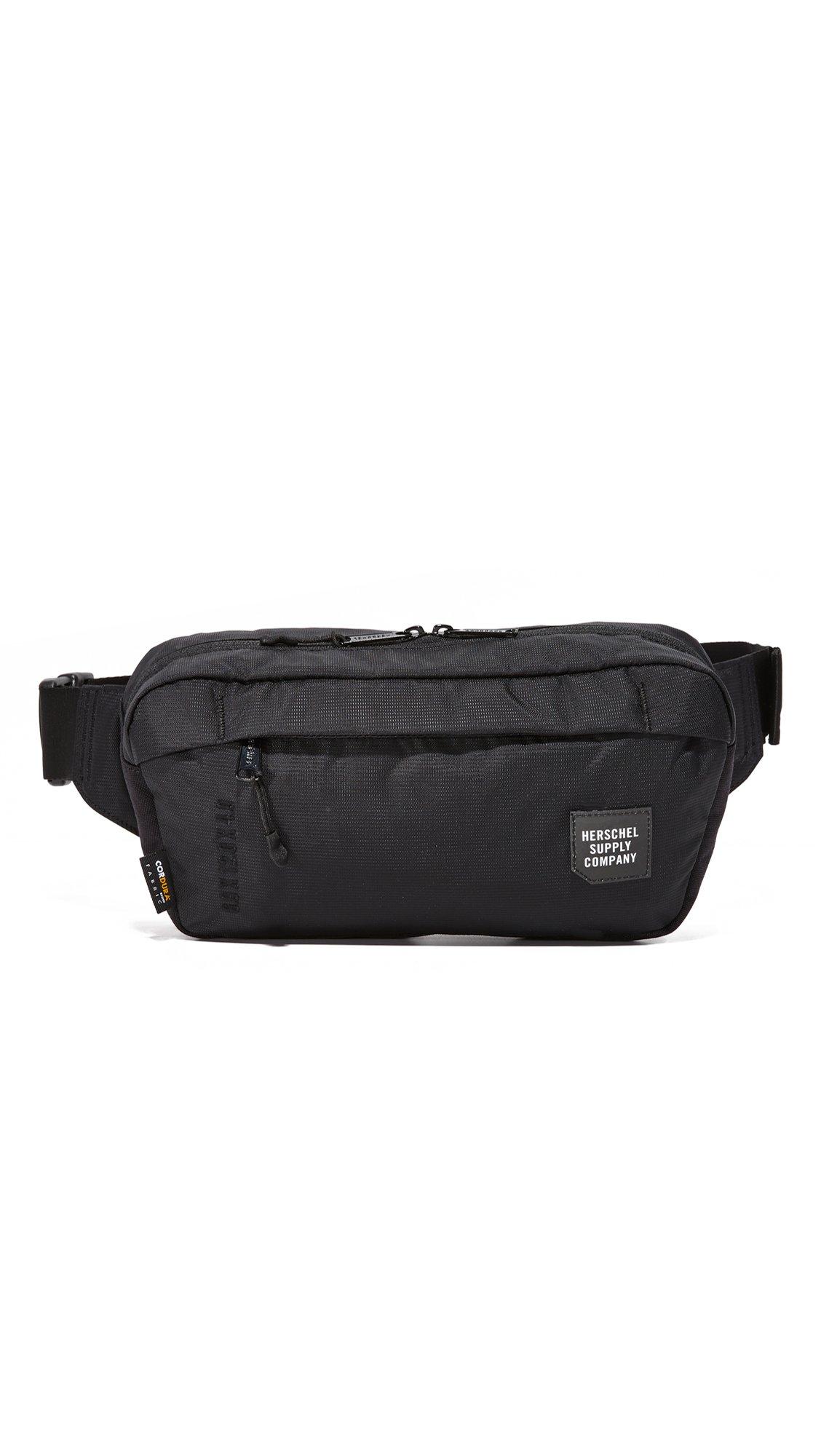 Herschel Supply Co. Men's Tour Medium Hip Pack, Black, One Size