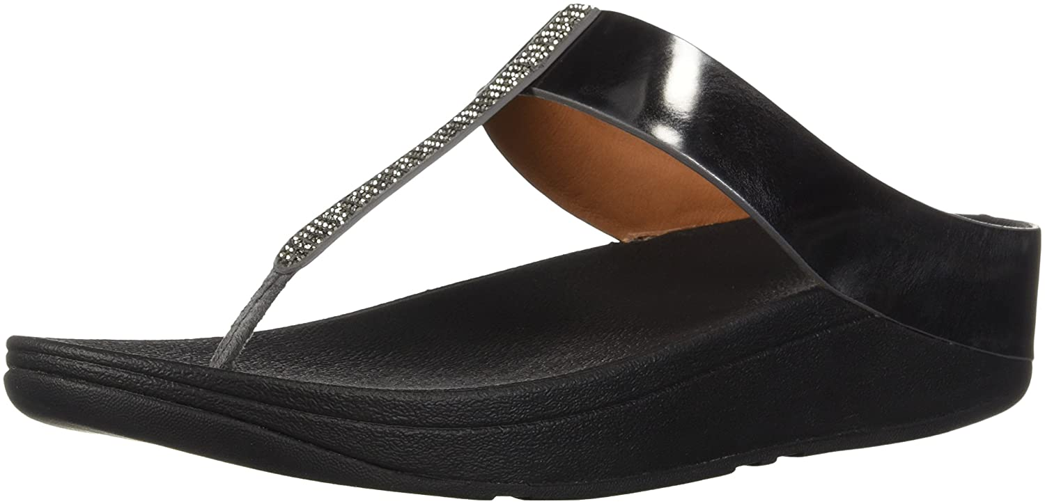 d2cb23f00 Amazon.com  FitFlop Women s Fino Crystal Toe-Thong Sandals  Shoes