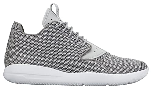 13fc393c158501 Nike Mens Jordan Eclipse High Trainers White Black Talla Grey Size ...