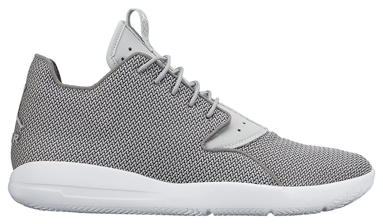 12d0856f493 Nike Mens Jordan Eclipse High Trainers White Black Talla Grey Size ...