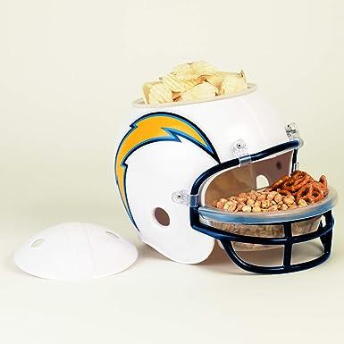 WinCraft San Diego Chargers Fútbol americano NFL Casco para aperitivos   Amazon.es  Ropa y accesorios 547d367f554