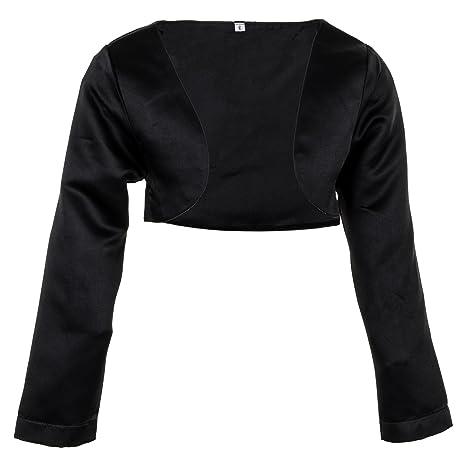 Prelest Festliche Mädchen Bolero Jacke in Weiß oder Schwarz für Fast jedes Kleid