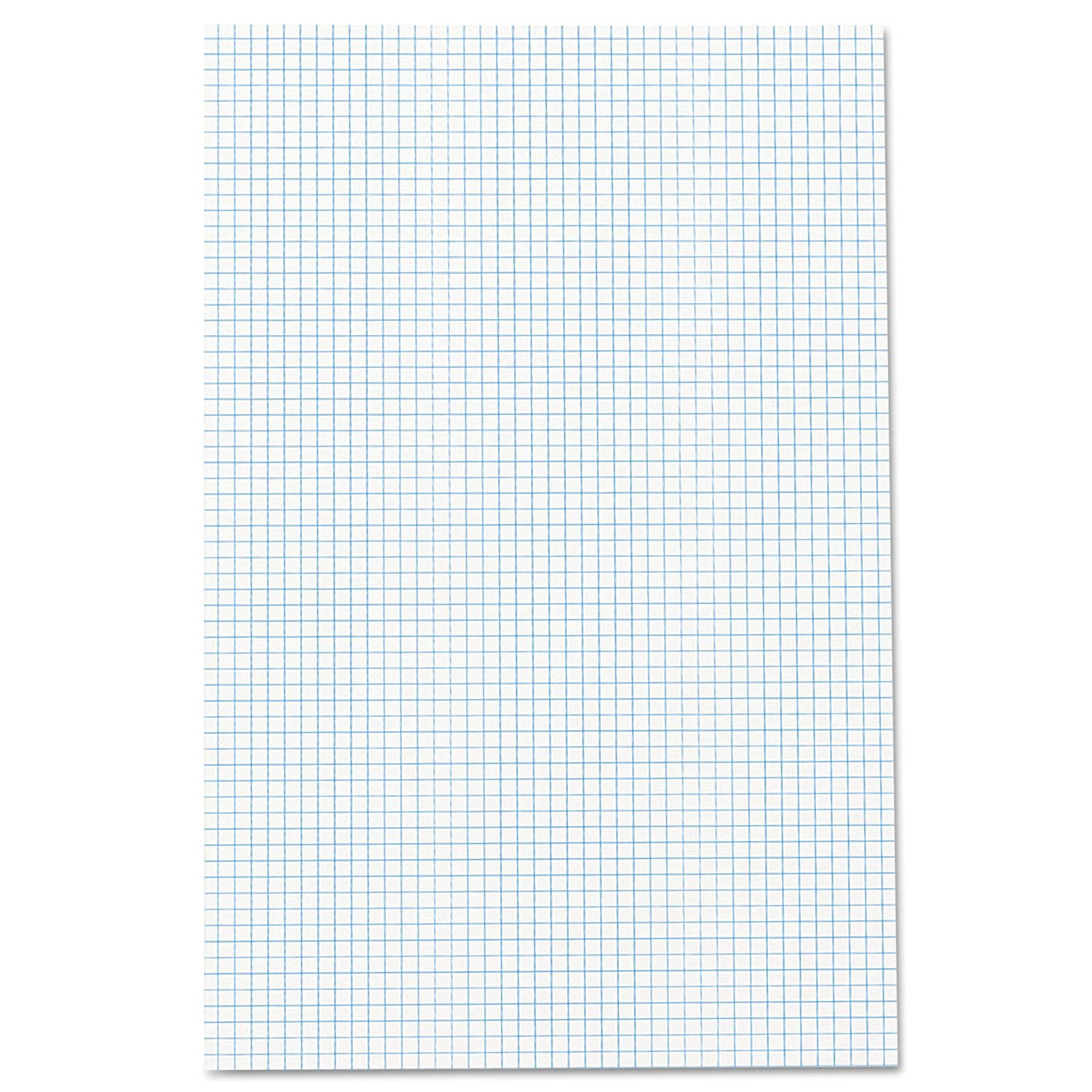 Ampad Quadrille Double Sided Pad, 11 x 17, White, 4x4 Quad Rule, 50 Sheets, 10 Pads, 500 Sheets Total (22-037) by Ampad (Image #2)
