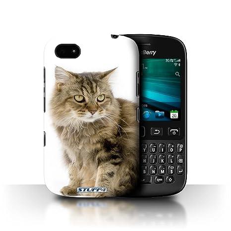 Carcasa/Funda STUFF4 dura para el Blackberry 9720 / serie: Razas de gatos -