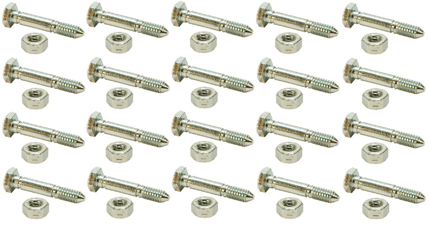 (20) SHEAR PINS / BOLTS 51001500, 510015, AM122156, AM136890, 13865, 7091550, 91550, 3285-11, 828d, 924de, 1032d, 1128de, 1128dde, 1332ddde Rotary