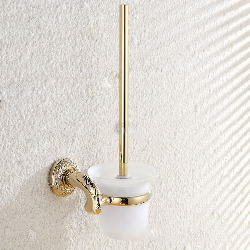 Toilet brushes and holders Zinc alloy Hotel Toilet cup holder Wall mounted WC cleaning tools
