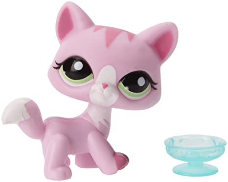 Littlest Pet Shop Hasbro Mascotas pet shop A Gato - Mascota de juguete coleccionable