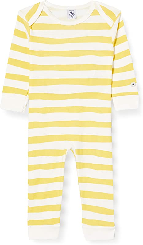 Petit Bateau Baby-Jungen 5848301 Schlafstrampler