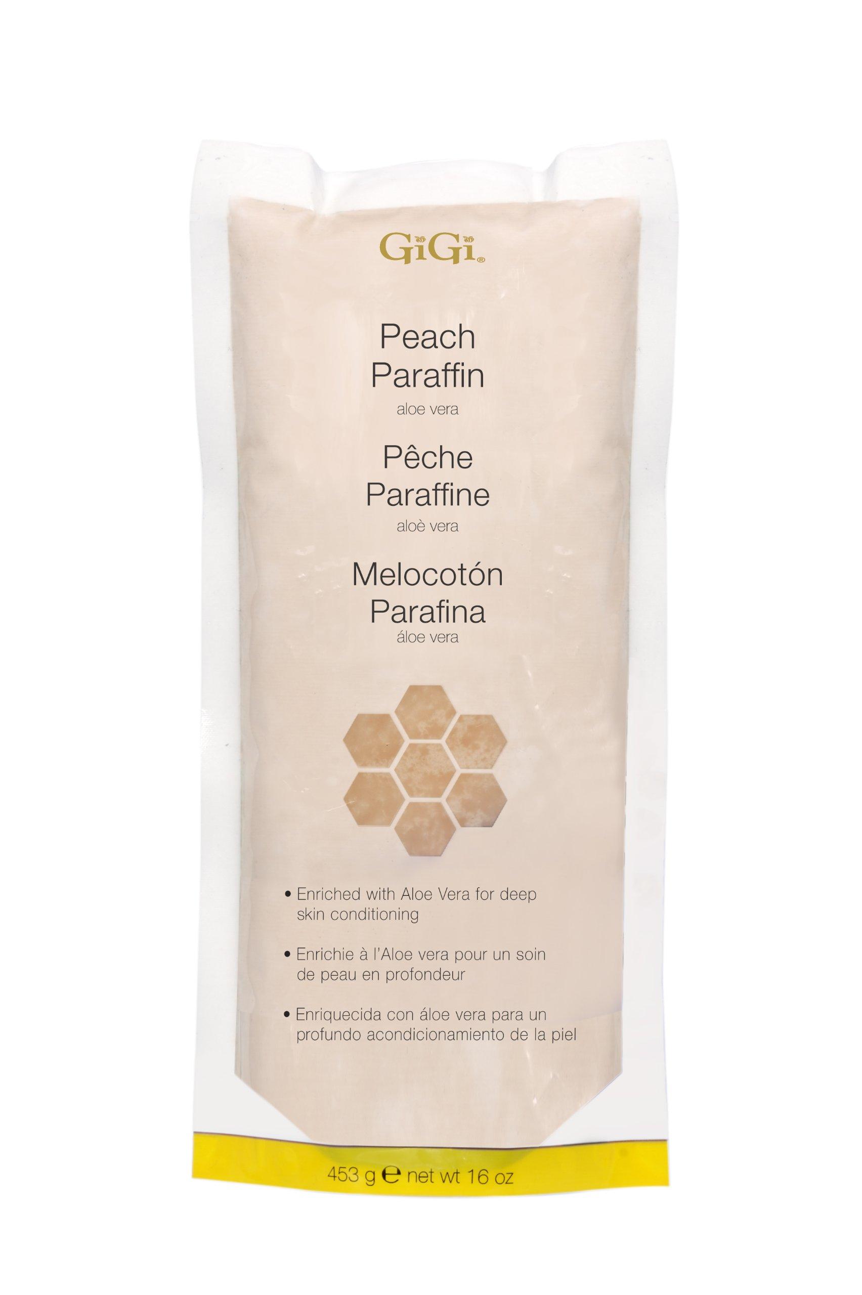 GIGI Peach Paraffin Wax With Aloe Vera by GiGi