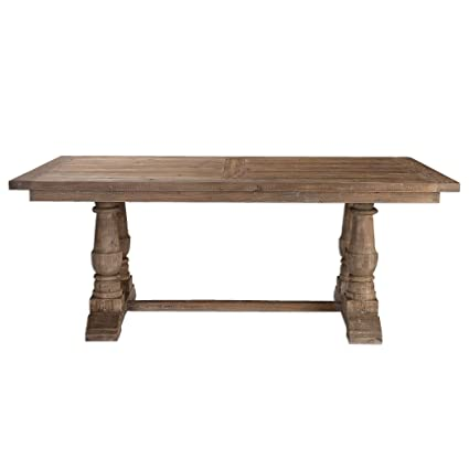 Amazon Com Uttermost 24557 Stratford Salvaged Wood Dining Table