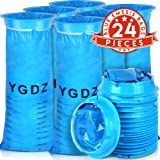 [New Upgraded] Vomit Bags 24 Pack, YGDZ Blue Barf