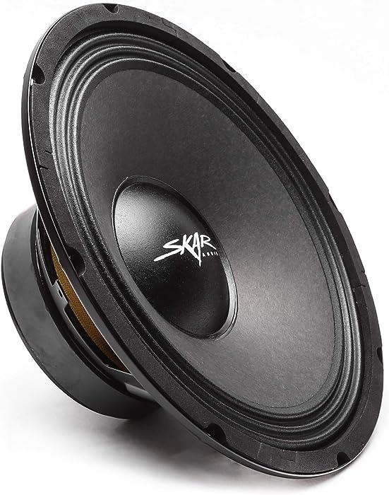 "Skar Audio FSX10-4 10"" 400 Watt 4 Ohm Pro Audio Midrange Loudspeaker, Each"