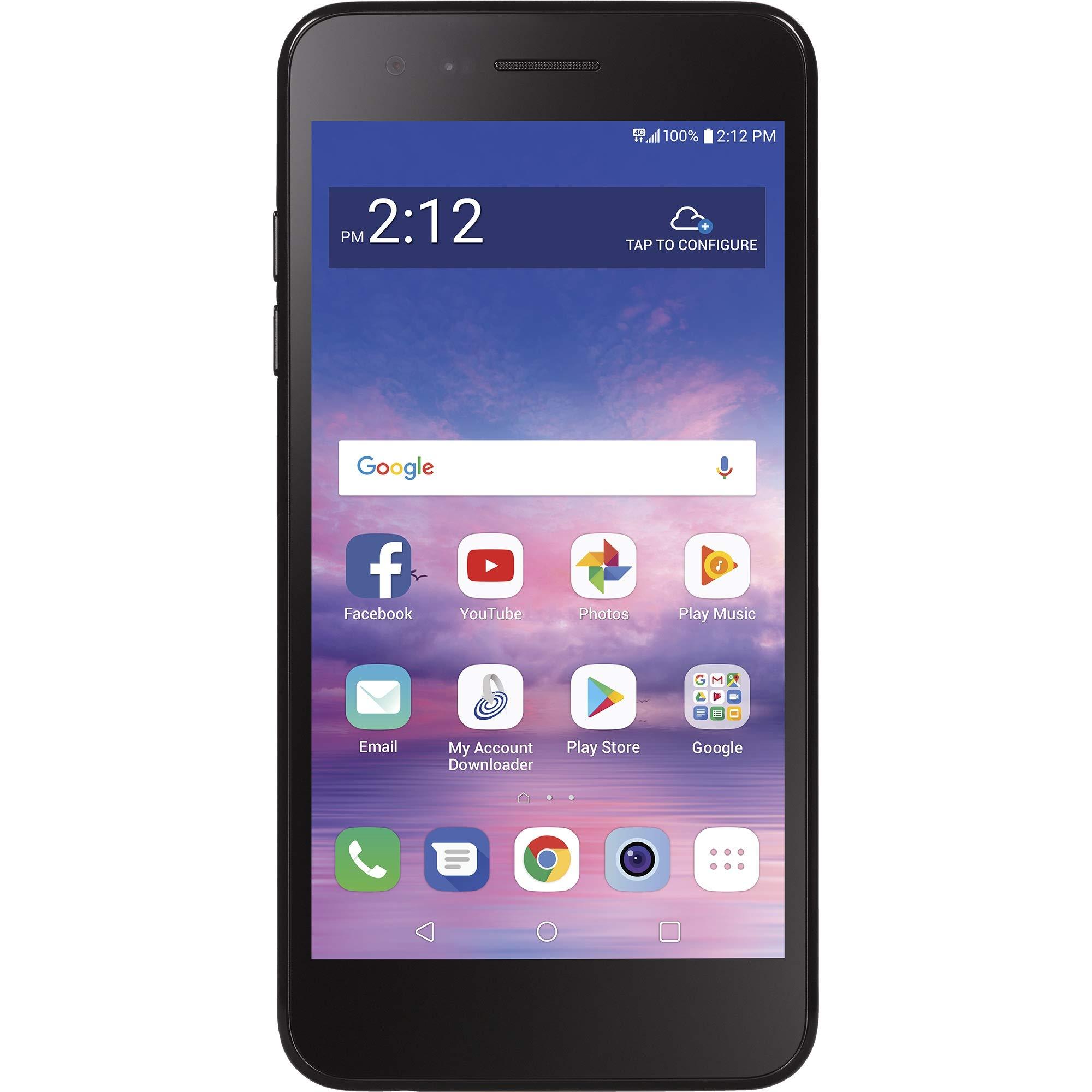 Net10 LG Rebel 4 4G LTE Prepaid Smartphone by Net10