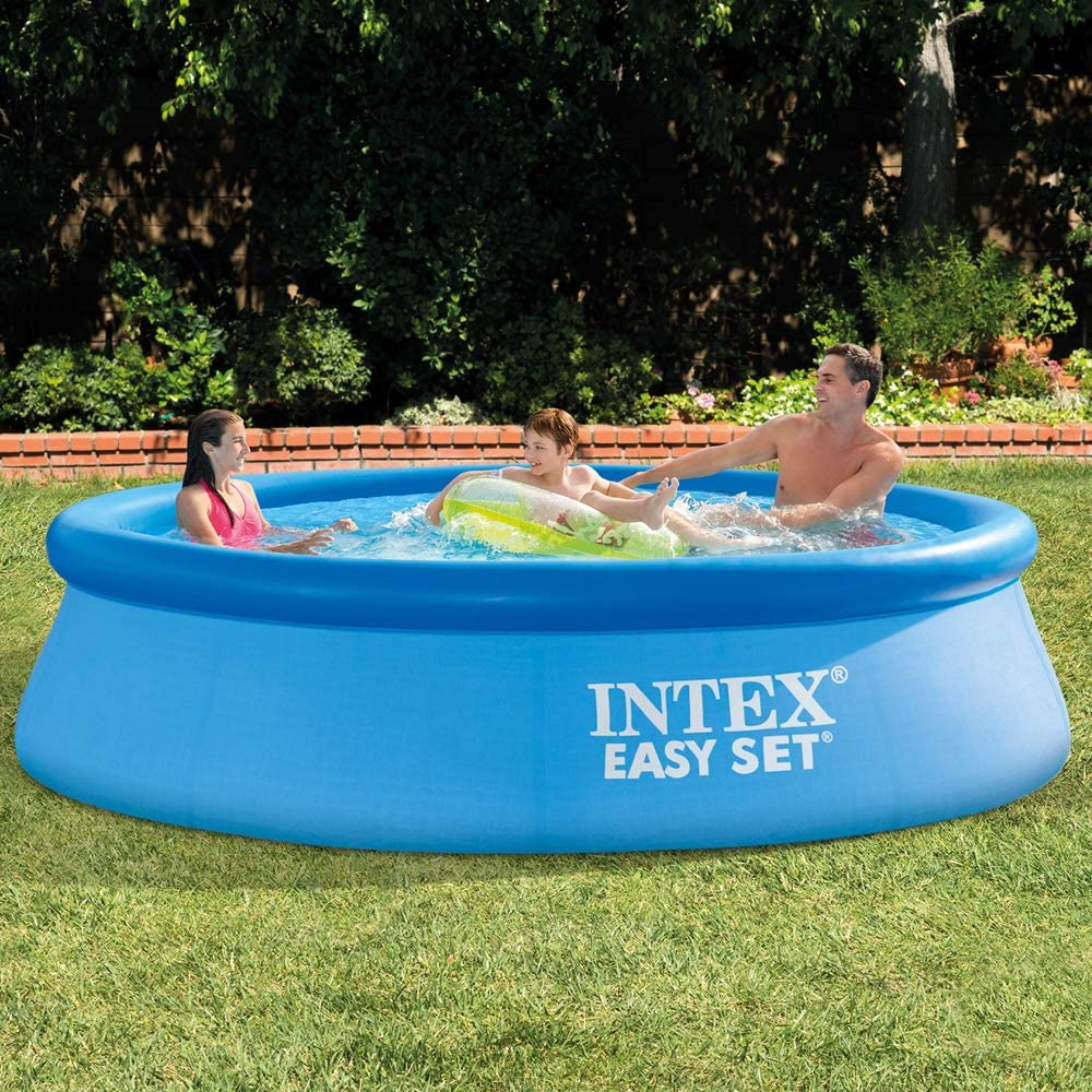 Intex 28120NP - Piscina hinchable octogonal 305 x 76 cm, 3.853 litros: Amazon.es: Jardín
