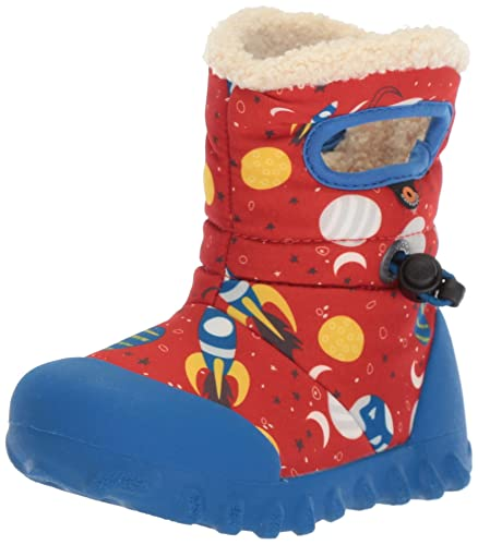 12a0a030dddb Bogs Baby B-Moc Waterproof Insulated Kids/Toddler Winter Boot, Space Print/