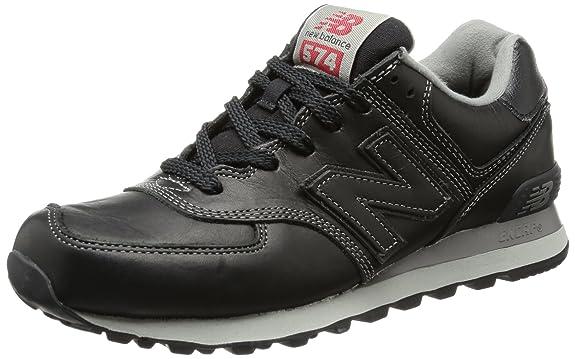 New Balance Ml 574 Sneaker Herren Schwarz