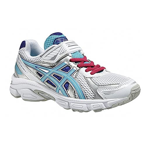 ASICS Pre Galaxy 7 PS - Zapatillas de running para niño, color blanco / azul