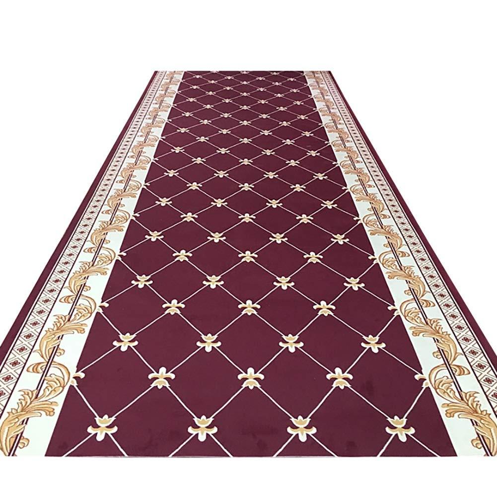 GuoWei-じゅうたん 廊下敷きカーペッ 地域 じゅうたん ジオメトリック パターン 長さ カスタマイズされた、54サイズ (色 : A, サイズ さいず : 1.1x8m) 1.1x8m A B07QF65BDV