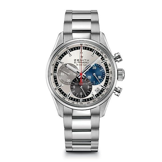 Para hombre Zenith reloj el primero 36 000 VPH 38 mm 03.2150.400/
