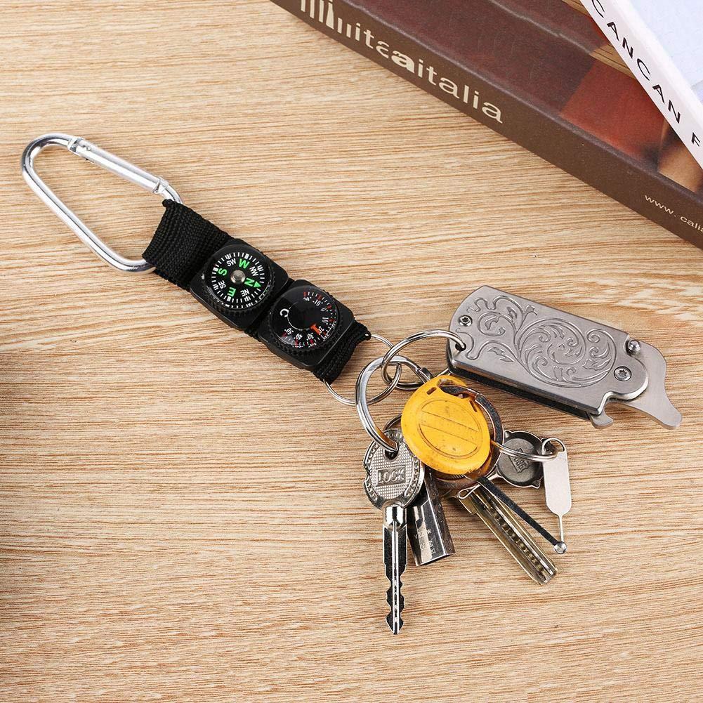 Amazon.com: Bicaquu - Mini termómetro portátil multifunción ...