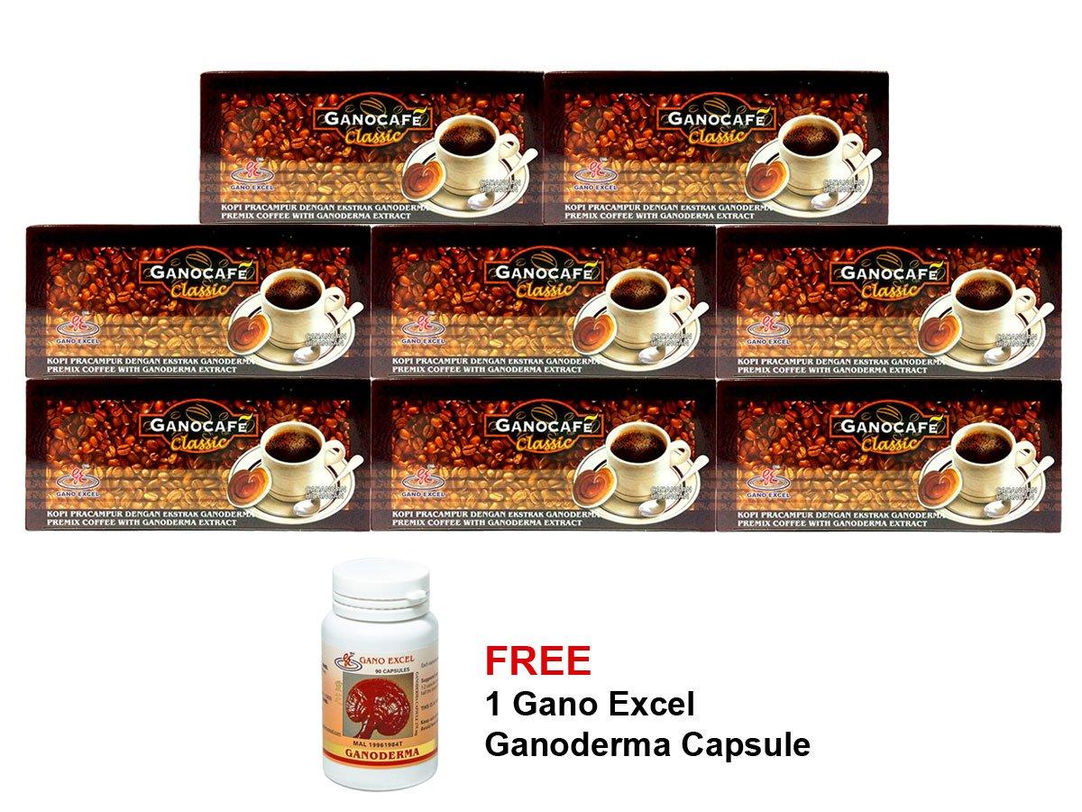 18 Boxes Gano Excel Black Coffee Classic Ganoderma Lucidum FREE Zrii Rise Coffee