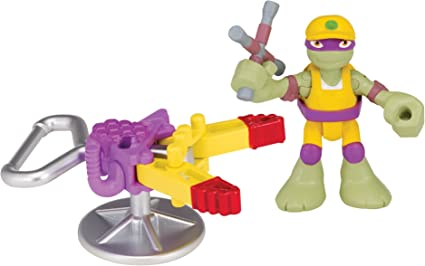 Teenage Mutant Ninja Turtles Pre-Cool Half Shell Heroes Road Rescue Donatello