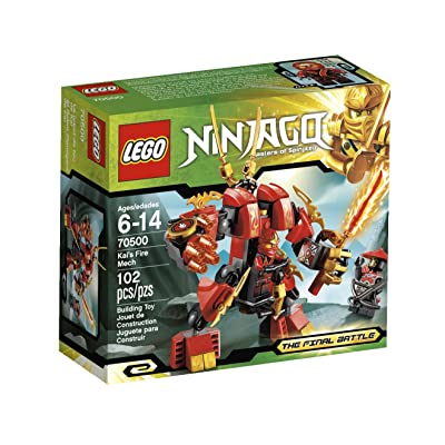 LEGO Ninjago Kais Fire Mech 70500 (Discontinued by manufacturer): Toys & Games [5Bkhe1006652]