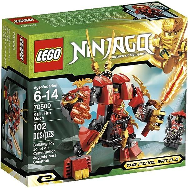 Amazon.com: LEGO Ninjago Cole Earth Driller 70502: Toys & Games