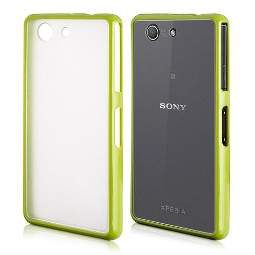 118 opinioni per kwmobile Cover per Sony Xperia Z3 Compact- Custodia trasparente per cellulare-