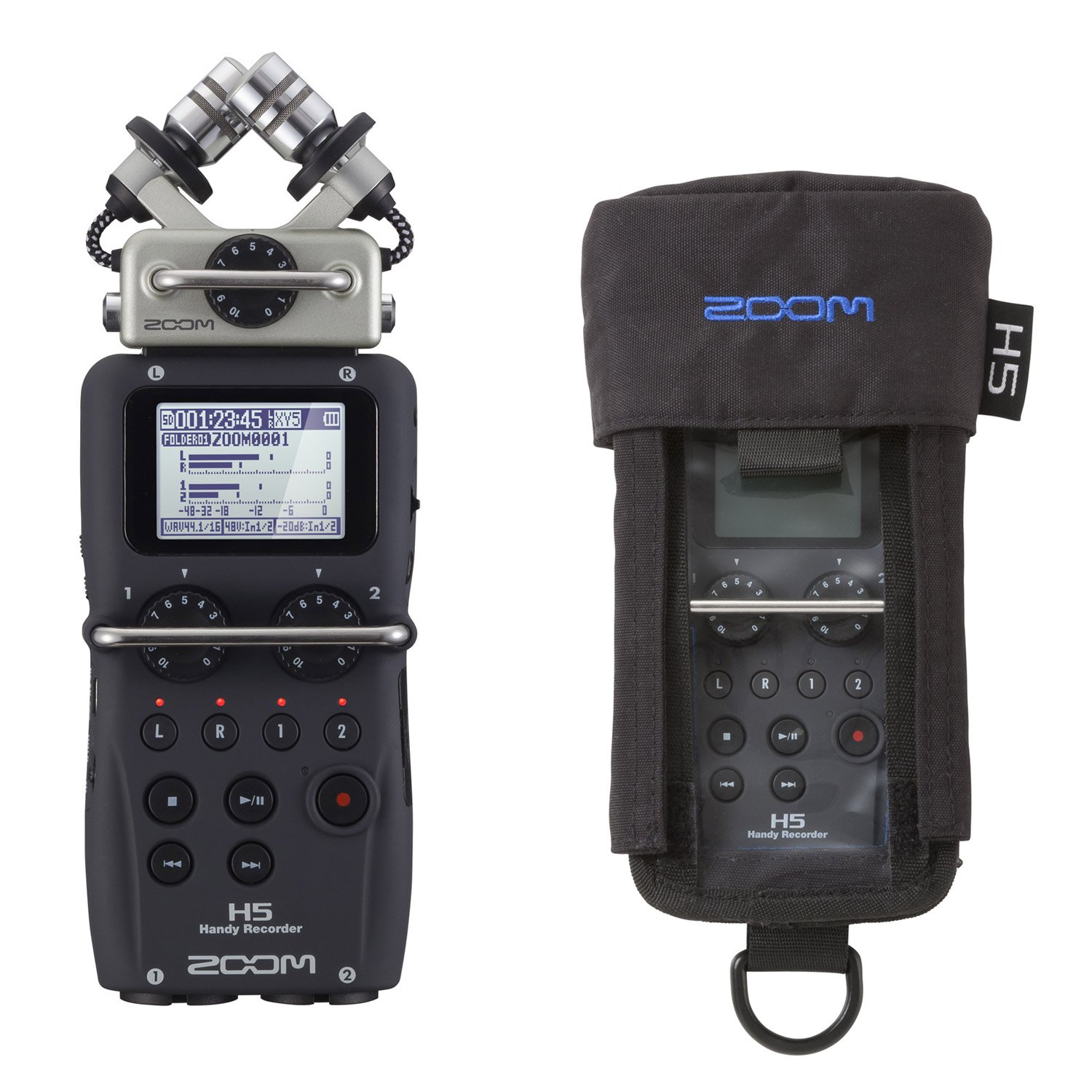 Zoom H5 Handy Recorder & PCH-5 Protective Case - Bundle by Zoom (Image #1)