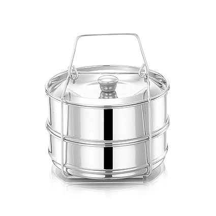 81468c9b87013 Amazon.com  Steamer Insert Pans for Instant Pot. Interchangeable ...