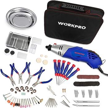 Workpro 152-piece Multi-function Rotary Tool Kit