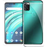 Compatible with UMIDIGI A9 PRO/A7 PRO Case, KZIOACSH Crystal Slim Fit Clear Soft TPU Anti-Scratch Shockproof Case Protective