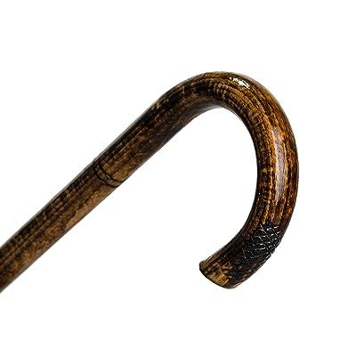 Étourdissement « BEND » tanné de marche en bois coller / canne / artisanaux escroc !